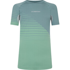 La Sportiva Complex T-Shirt Col Ras-Du-Cou Homme, pine/grass green